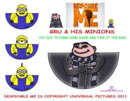 Despicable Me Minis by mikedaws