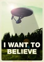 I want to believe by R-Clifford
