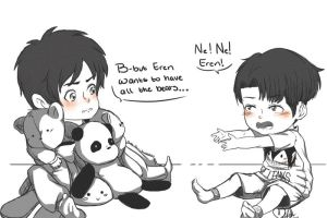 ''Share Eren!'' by Nude-Mochi