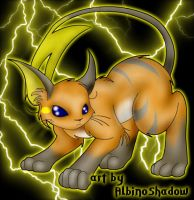 Raichu -colored- by albinoshadow