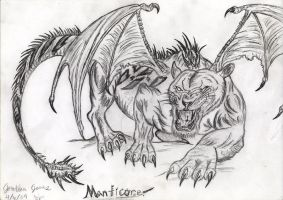 The Manticore by Art-26