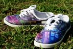 Doctor Who Shoes by LovelyAngie