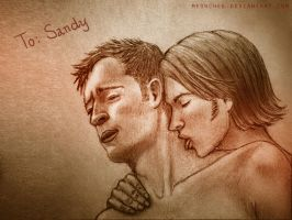 Gadreel X Sam Winchester by Meowchee