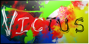 Victus Abstract Calligraphy by inferno29