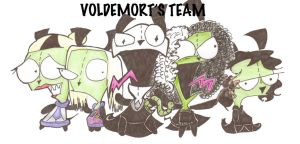 voldemorts gang by eggshellbrownies