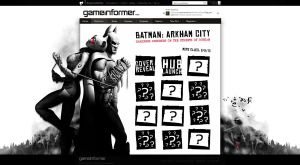 Batman: Arkham City Hub by Meagan-Marie
