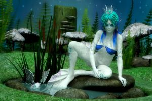 The Frog Princess by RavenMoonDesigns