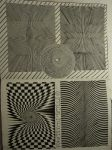 Optical illusion patterns by TheFranology