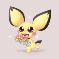 Pichu - Bouquet by Bukoya
