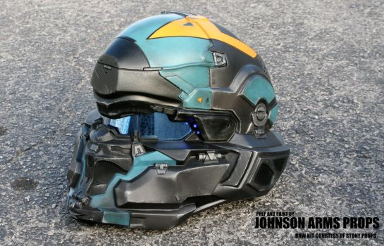 Halo 5 Agent Locke Wearable Helmet by JohnsonArmsProps