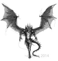 Infernal Dragon by Ageaus