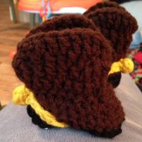 Cowboy Booties with Spurs and double sole by CardinalCrocheting