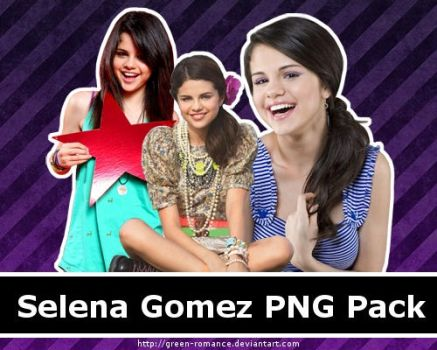 Selena Gomez PNG Pack by Green-Romance