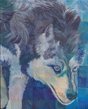 Blue Wolf by sos1989