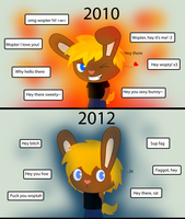2010 vs 2012 by Wopter