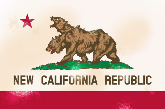 Flag of the New California Republic by MissingMonsters