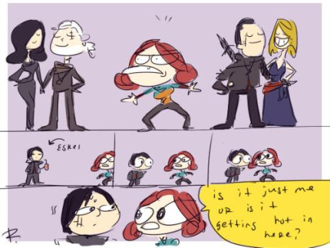 The Witcher 3, doodles 123 by Ayej