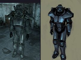 Fallout 3 Brotherhood PA mod by IgnusDei