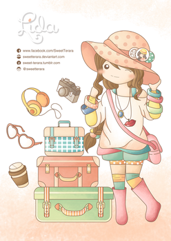 It's Travel Time by sweetterara