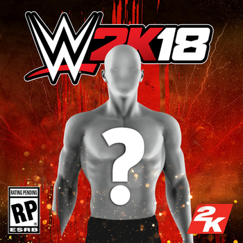 WWE 2K18 Cover Template (w/ download) by LastBreathGFX