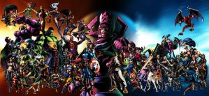 Marvel VS Capcom 3 all Characters 2 by ighor5