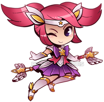 Star Guardian Lux Chibi! by RinTheYordle