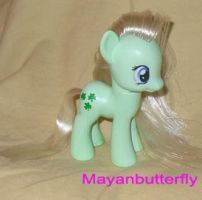 G4 Minty Custom Little Pony by mayanbutterfly