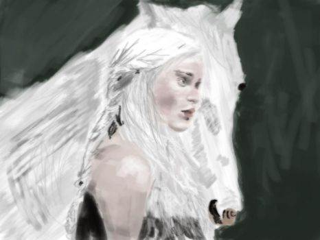 Wallpaper-daenerys-game-of-thrones Linear Burn by nterthehammer