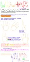 How to Draw Hands Tutorial: Fundamentals by SchizoDolph
