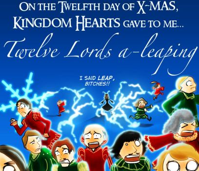 On the Twelfth Day of X-Mas... by terriblenerd