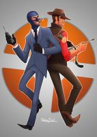 TF2: Watch Your Back by ShinySoul