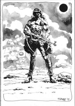 Rogue Trooper commission by StazJohnson