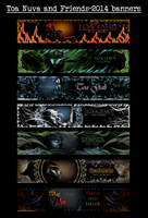 Toa Nuva and friends-banner collection by Pearllight180