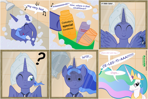 The truth about Luna's hair by AxemGR