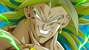 Broly by Maniaxoi