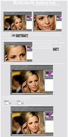 Retouch tutorial by talieps1000