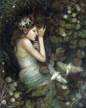 Ophelia by PinkParasol