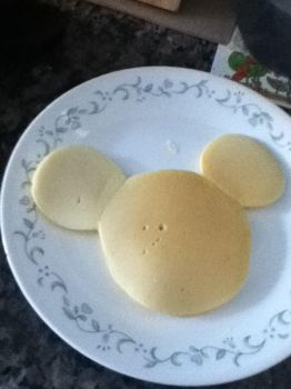 Mickey Mouse Pancake by dreamerXD