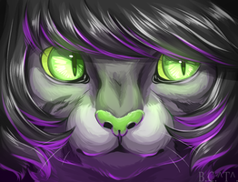 Commission icon(OC not mine) by beneheartcat