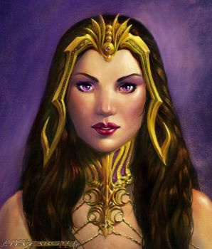 Liliana portrait by SteveArgyle