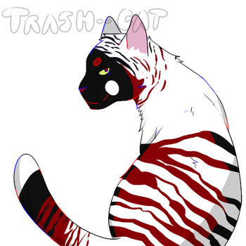 $5 Adopt by Trash--Cat