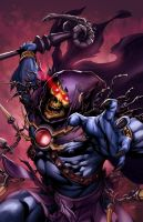 Skeletor Print for Baltimore Comicon (9-7-2013) by popmhan