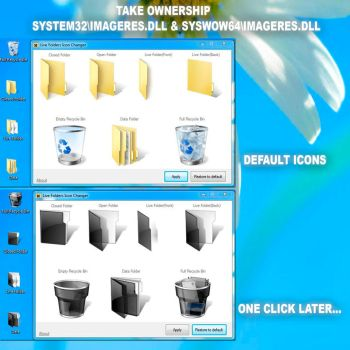 Live Folders Icon Changer 2.0 W7 and W8.1 x64 ONLY by frank1n