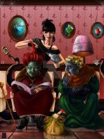 The Salon of The Witches. by GloriaPM