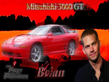 2fast2furious Brian's 3000Gt by saintfighterfire