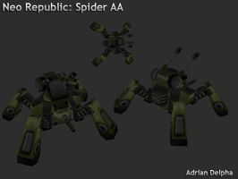 Spider Anti-Aircraft by DelphaDesign