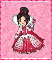 princess vanellope by ninpeachlover