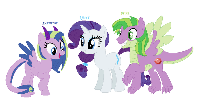 Rarity y spike