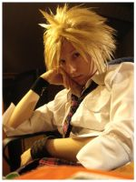FFVII: Wanna study with me? by niemtold
