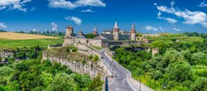 Kamianets-Podilskyi castle by roman-gp